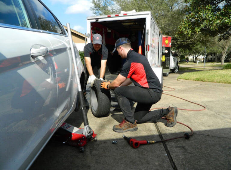 Houston Mobile Tire Service