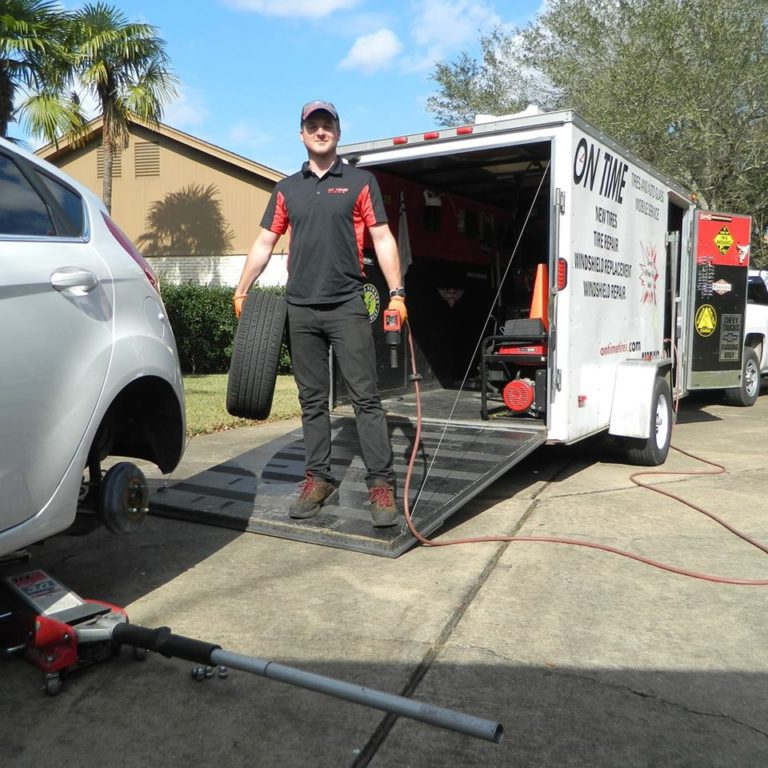 Mobile Tire Repair Service Houston