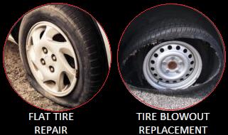 Flat Tire Repair - Mobile Tire Service Houston