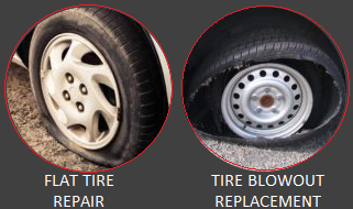 Flat Tire Repair - Mobile Tire Service Houston