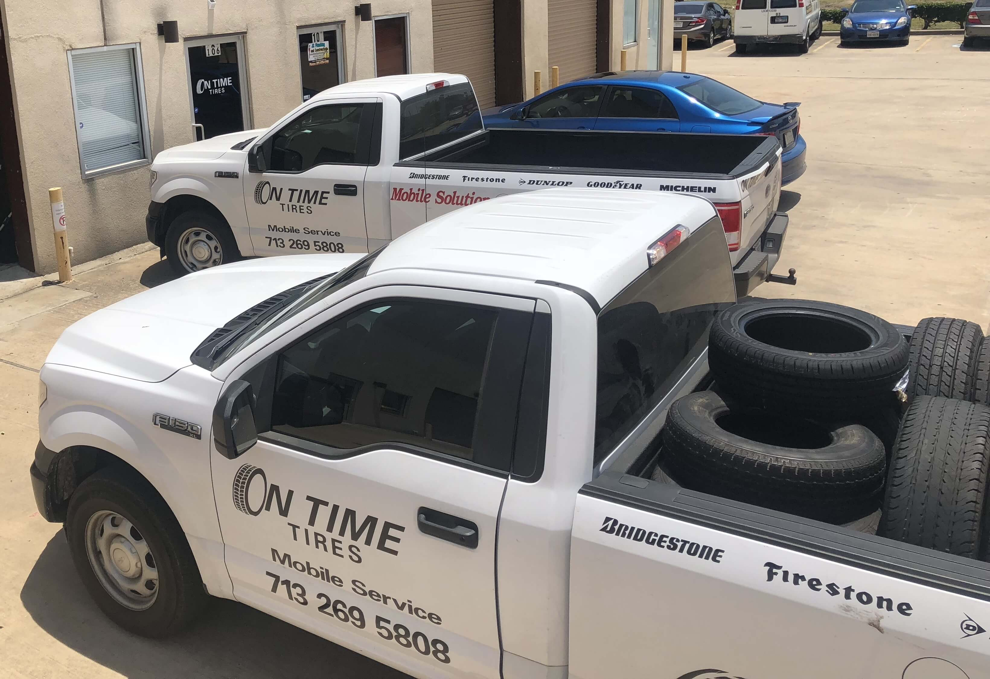 On Time Tires Mobile Tire Repair Service Houston 01