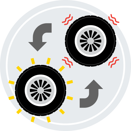 Tire Blowout Replacement Tire Houston